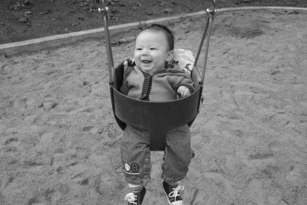 First swing ride -Oct. 2005